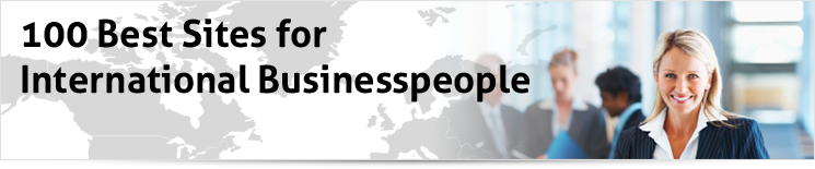 100 Best Sites for International Businesspeople